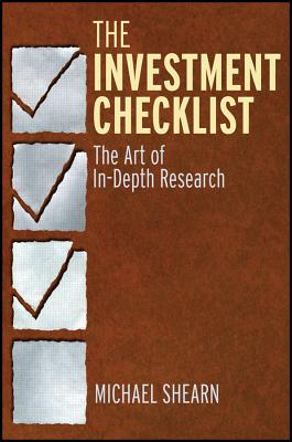 The Investment Checklist By Shearn, Michael